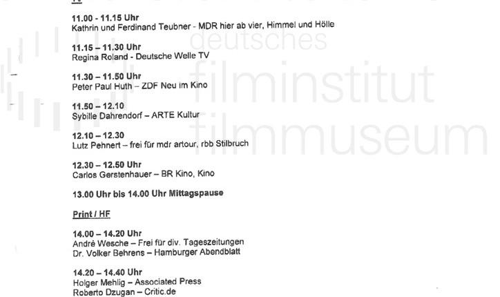DER NEUNTE TAG // Korrespondenz / Schmidt Schumacher, 1