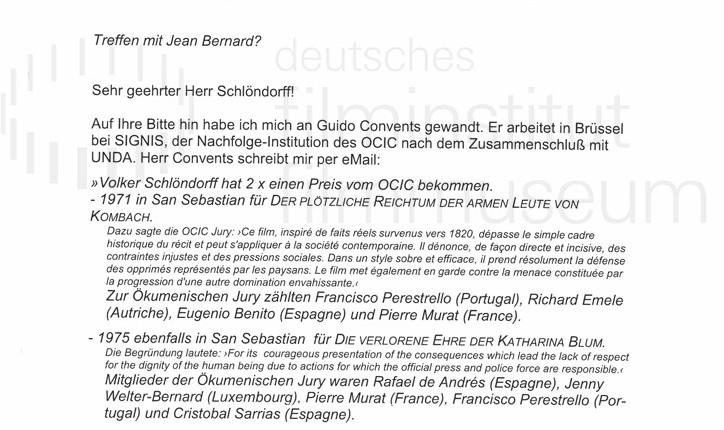 DER NEUNTE TAG // Korrespondenz / Thomas Kroll