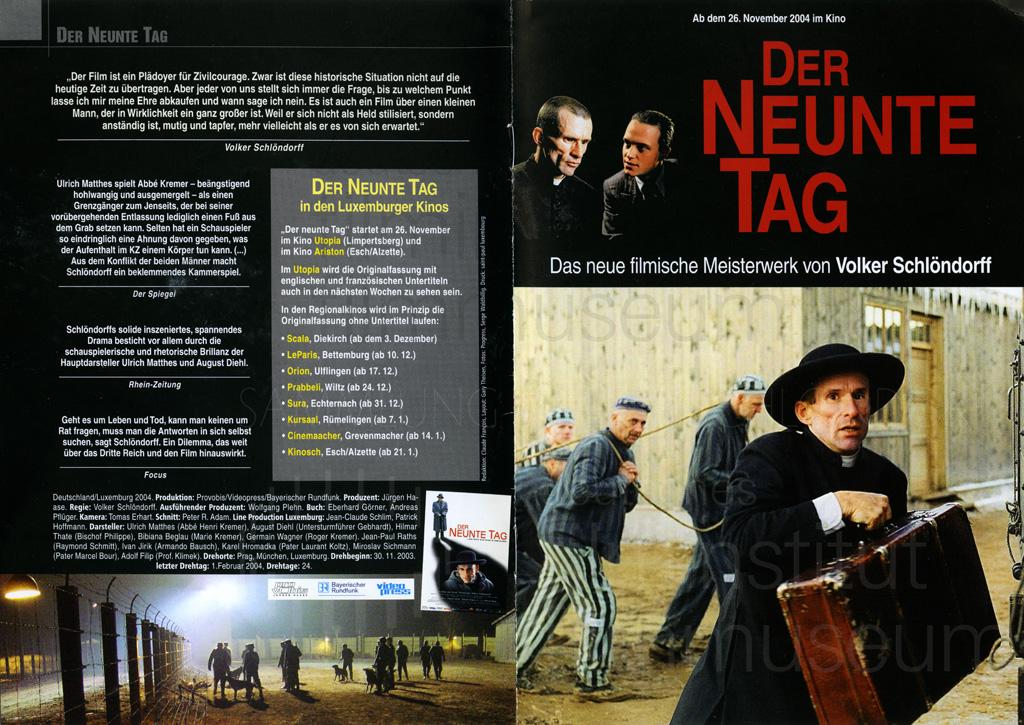 DER NEUNTE TAG // Produktionsmaterial / Presseheft, 1