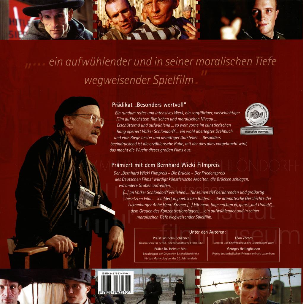 DER NEUNTE TAG // Produktionsmaterial / Buch zum Film, 1a
