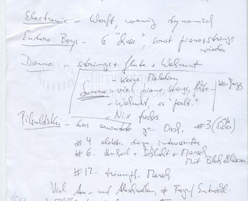 STRAJK // Produktionsmaterial / Notizen, 3a