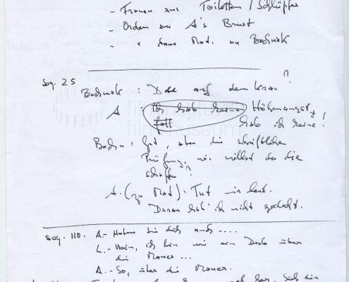 STRAJK // Produktionsmaterial / Notizen, 4a