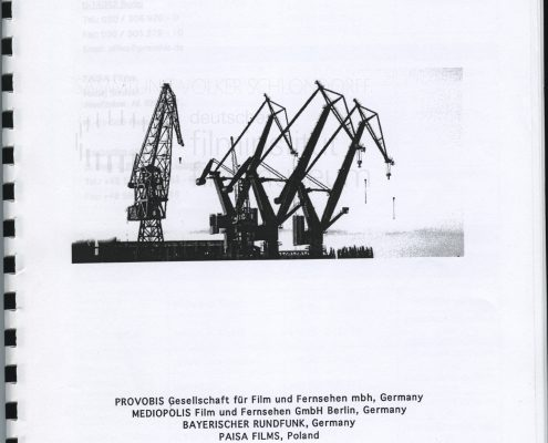 STRAJK // Produktionsmaterial / Produktionsbuch, 1a
