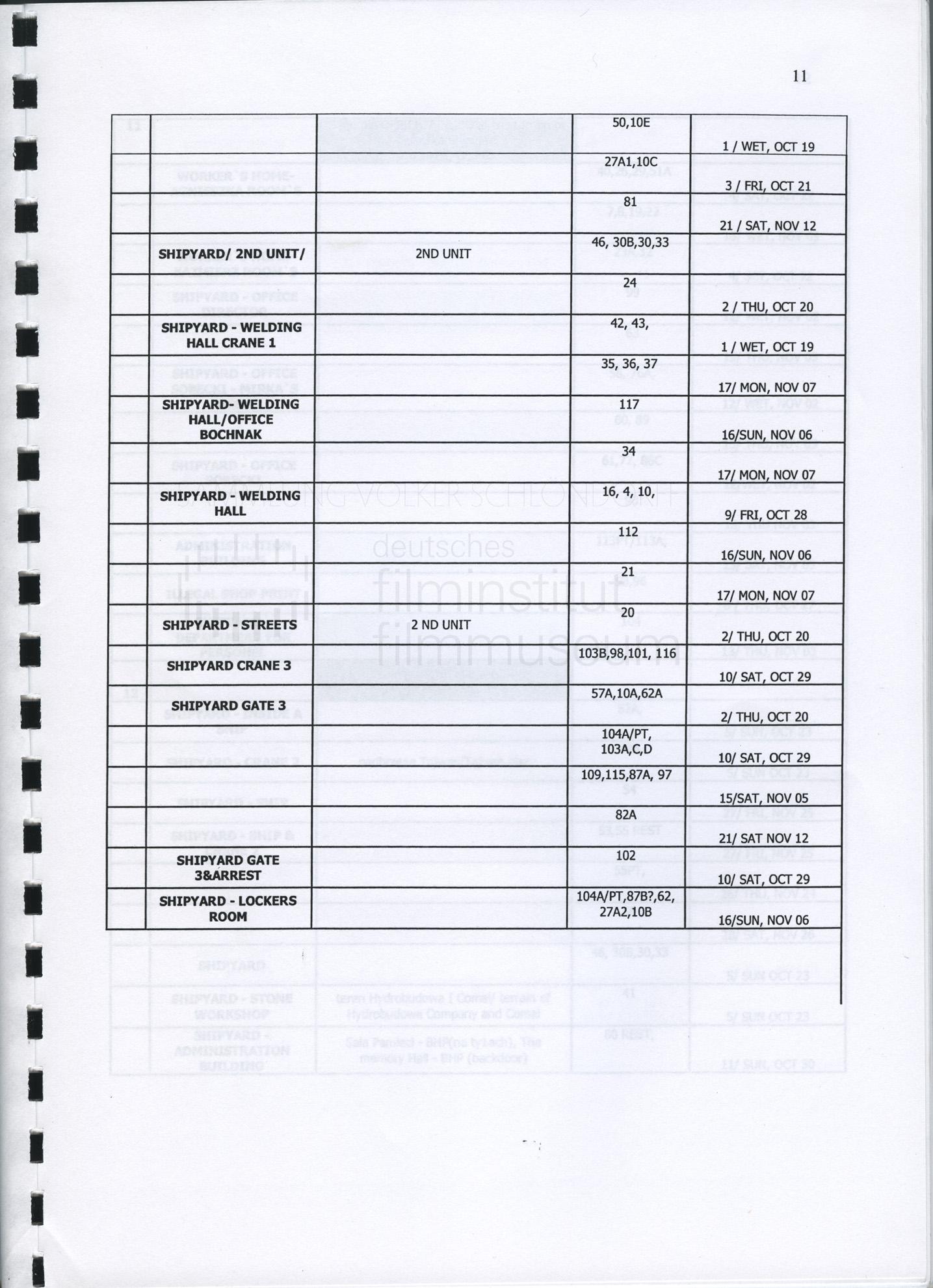 STRAJK // Produktionsmaterial / Produktionsbuch, 1k
