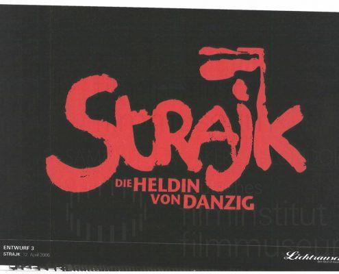 STRAJK // Vorbereitungsmaterial / Titel-Layout, 1b