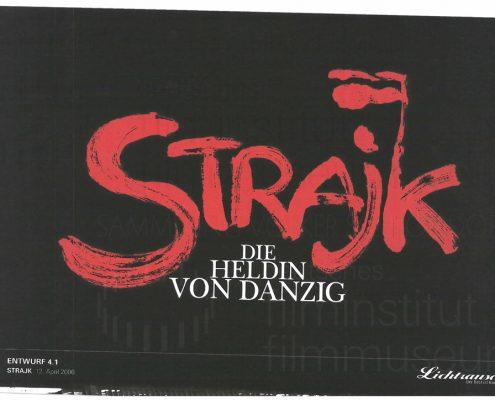 STRAJK // Vorbereitungsmaterial / Titel-Layout, 1d