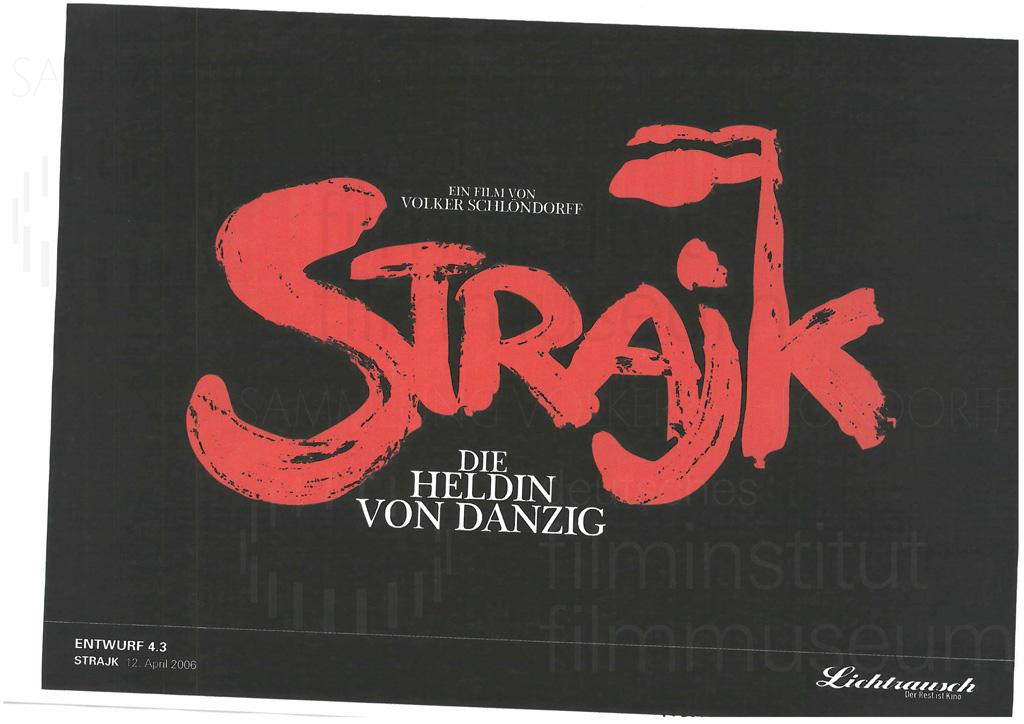 STRAJK // Vorbereitungsmaterial / Titel-Layout, 1h