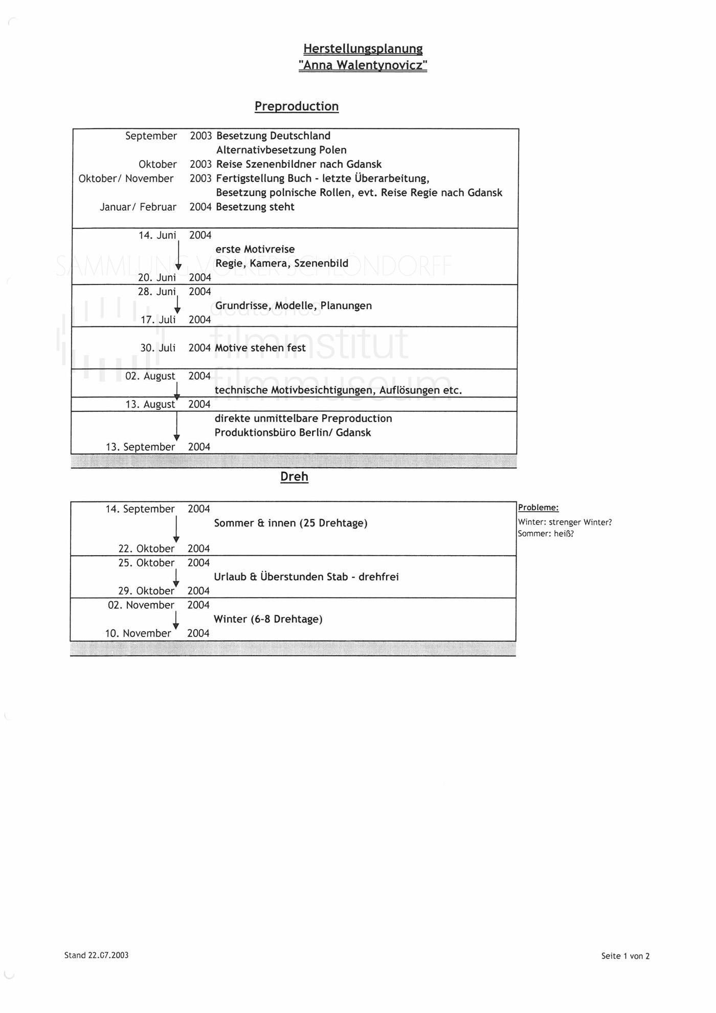 STRAJK // Produktionsmaterial / Herstellungsplanung, 1c