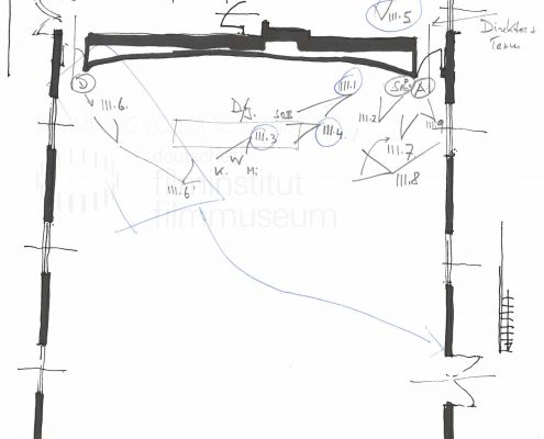 STRAJK // Produktionsmaterial / Skizze, 1b
