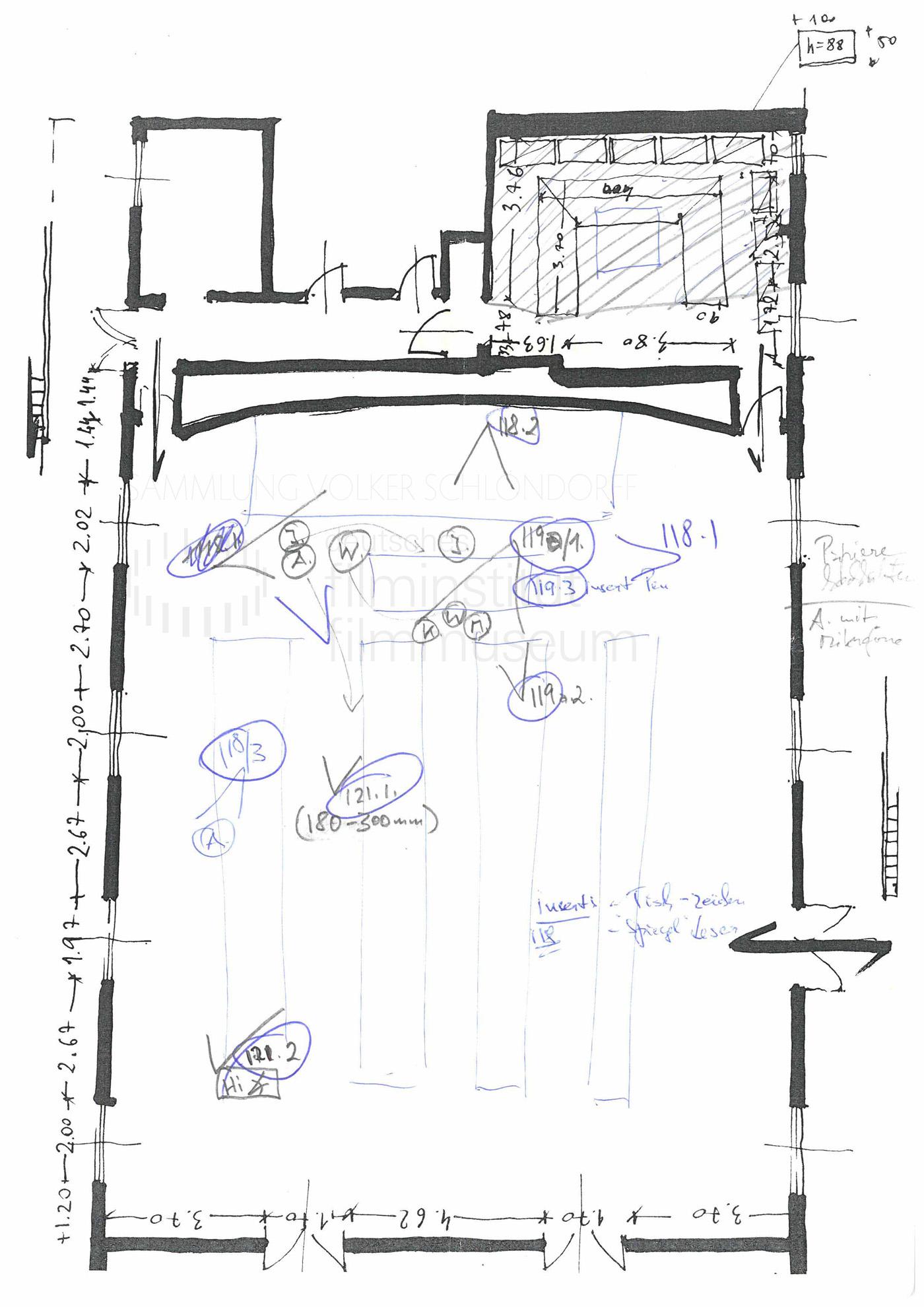 STRAJK // Produktionsmaterial / Skizze, 1c