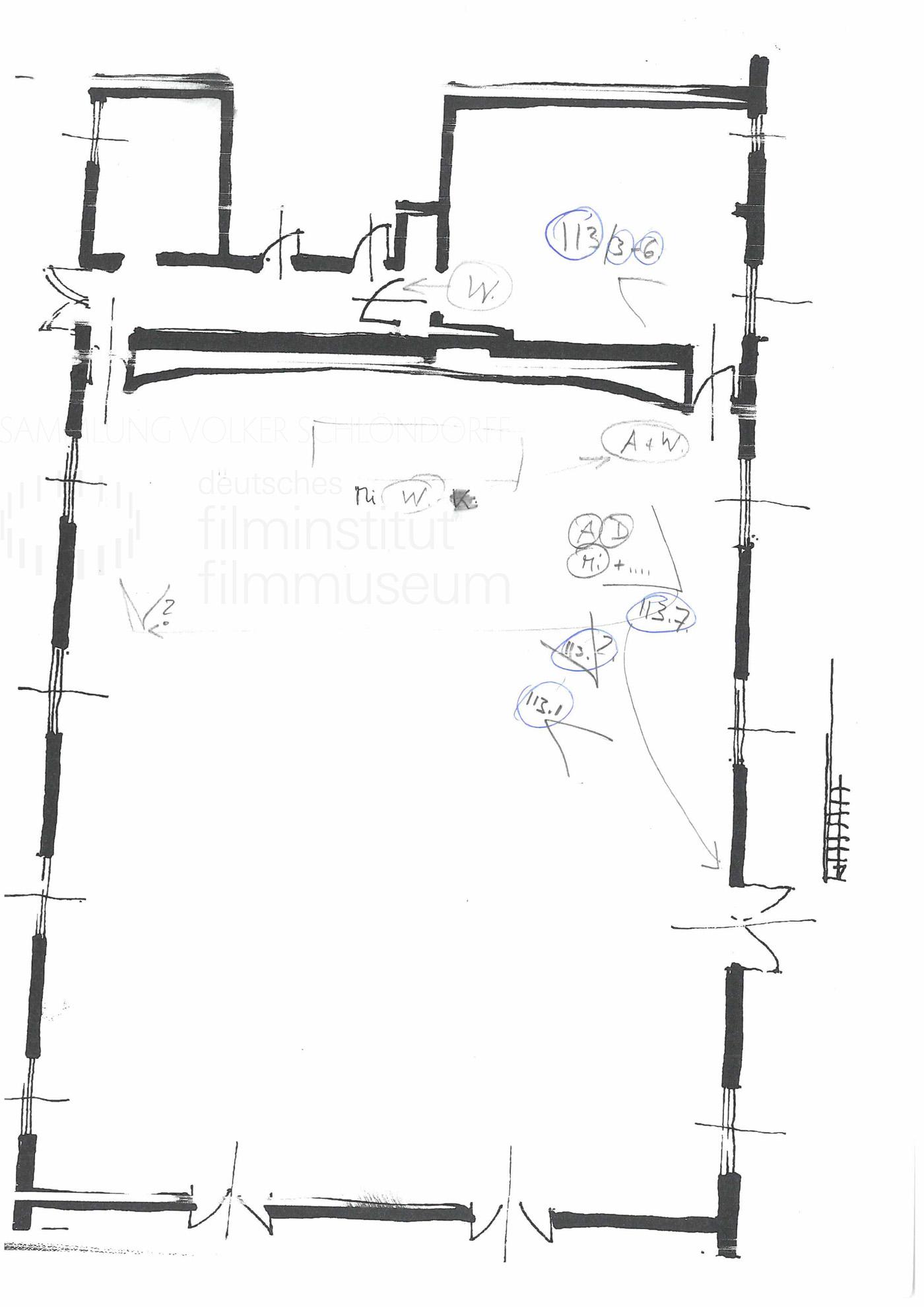 STRAJK // Produktionsmaterial / Skizze, 1d