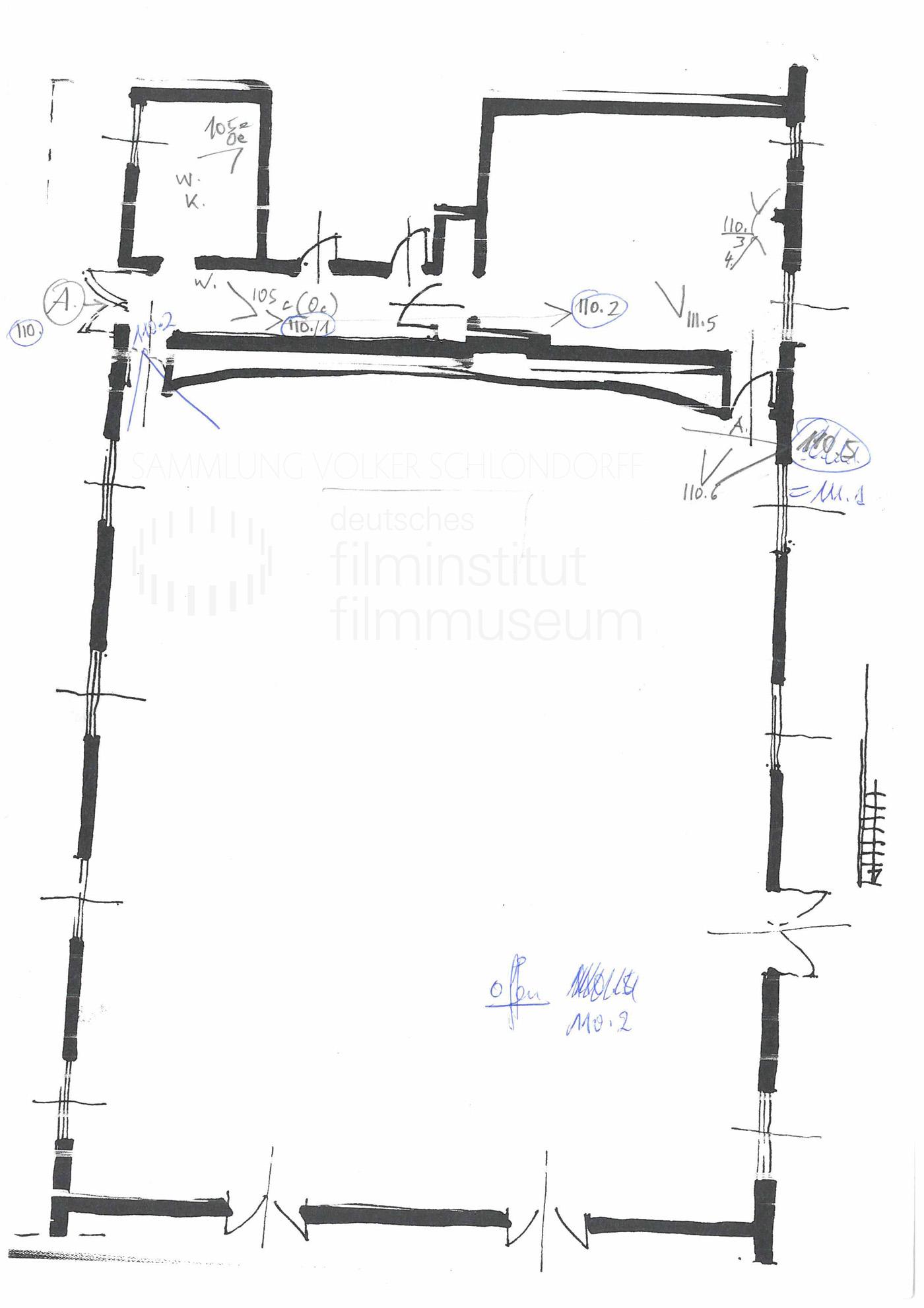 STRAJK // Produktionsmaterial / Skizze, 1e