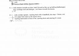 STRAJK // Produktionsmaterial / Shotlist Day 6
