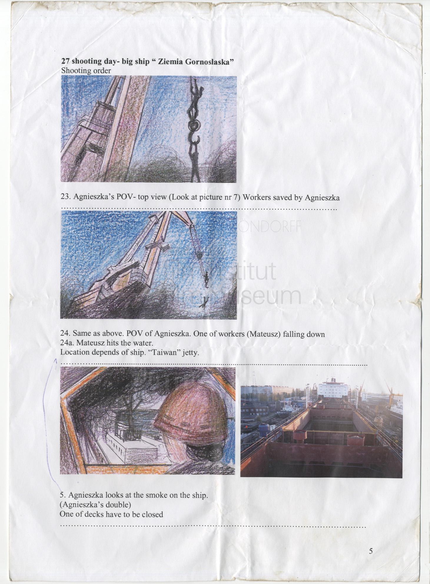 STRAJK // Vorbereitungsmaterial / Storyboard 1a