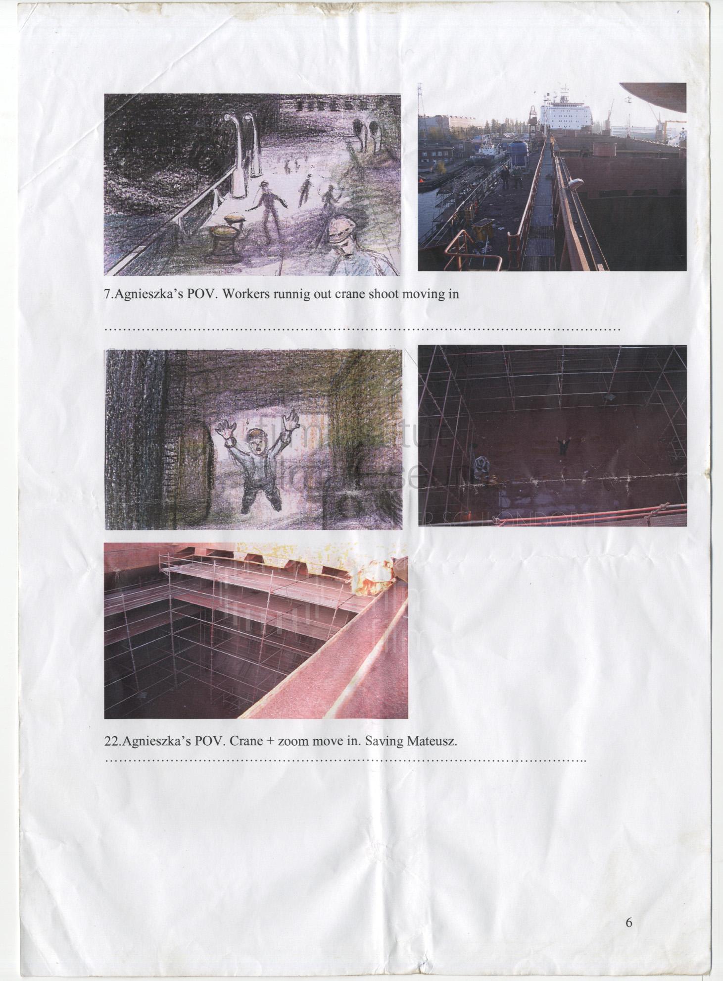 STRAJK // Vorbereitungsmaterial / Storyboard 1b