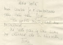 VIVA MARIA! // Korrespondenz / Brigitte Bardot