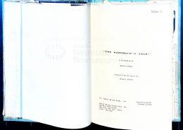 DIE GESCHICHTE DER DIENERIN // Produktionsmaterial / Arbeitsdrehbuch
