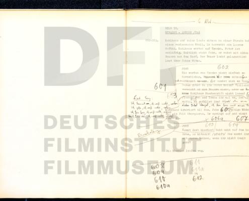 MICHAEL KOHLHAAS - DER REBELL // Produktionsmaterial / Drehbuch Seite