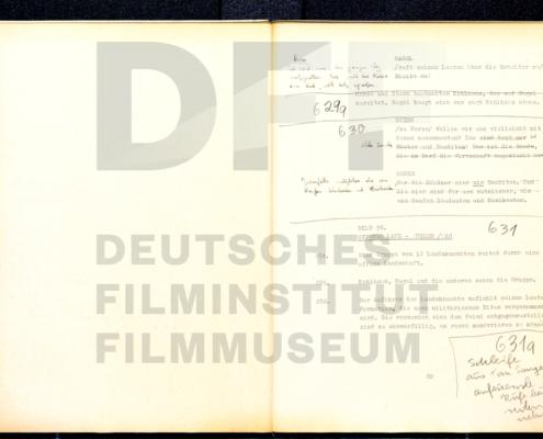 MICHAEL KOHLHAAS - DER REBELL // Produktionsmaterial / Drehbuch 6